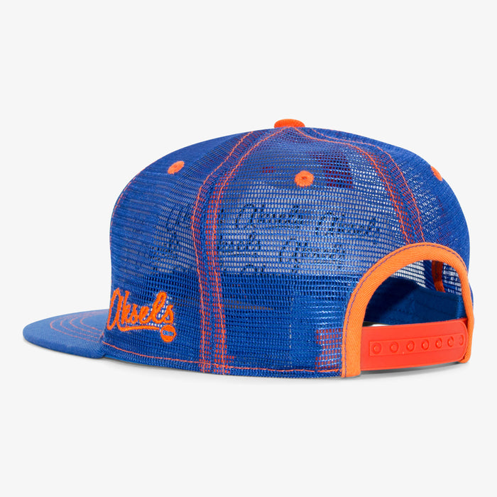 Aksels Colorado Big C Trucker Hat - Royal/Orange