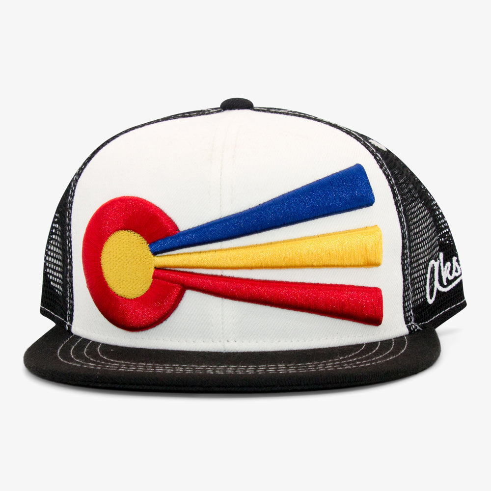 Aksels Colorado Rays Trucker Hat - White
