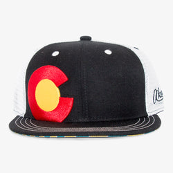 Colorado Big C Sunrise Trucker Hat