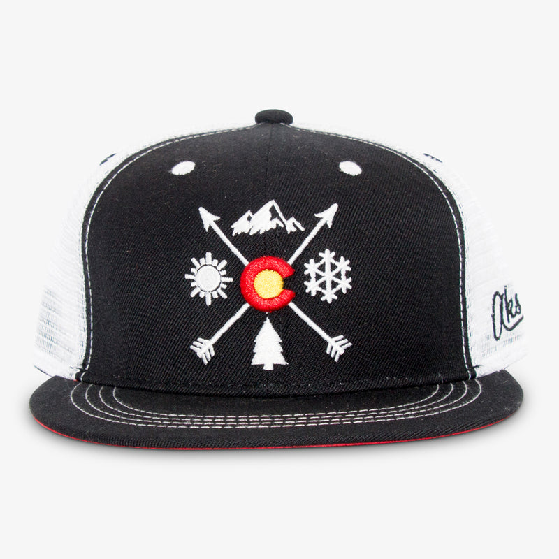 Aksels Colorado Arrows Trucker Hat - Heather