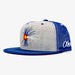 Aksels Colorado Fly Fishing Trucker Hat - Royal