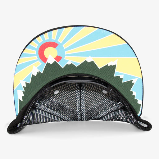 Aksels Colorado Original Trucker Hat - Black