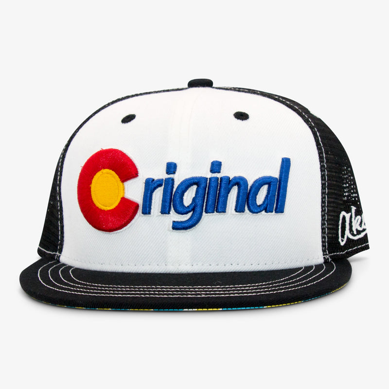 Aksels Colorado Original Trucker Hat - Royal