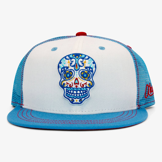 Day of the Dead Hat - White