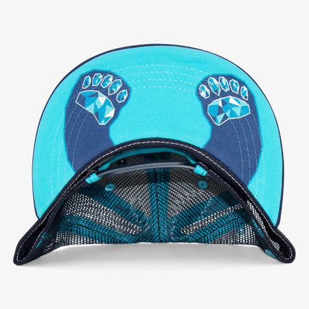 Aksels Denver Blue Bear Trucker Hat