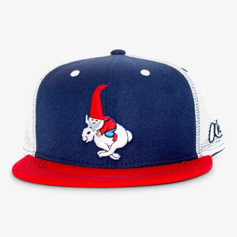 Gnome Bunny Trucker Hat
