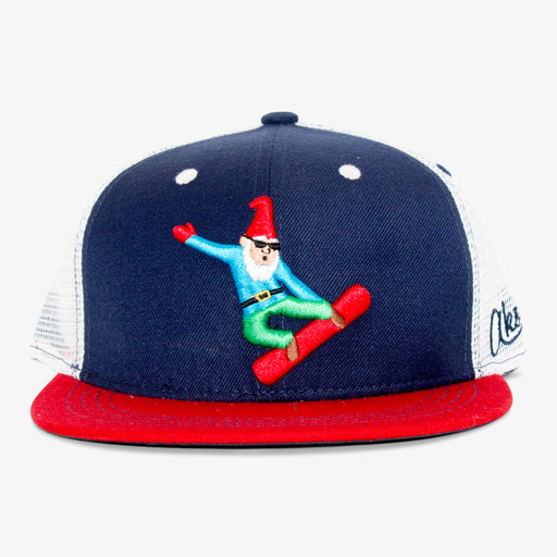 Aksels Gnome Snowboarder Trucker Hat