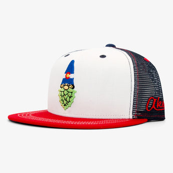 Gnome Hops Trucker Hat