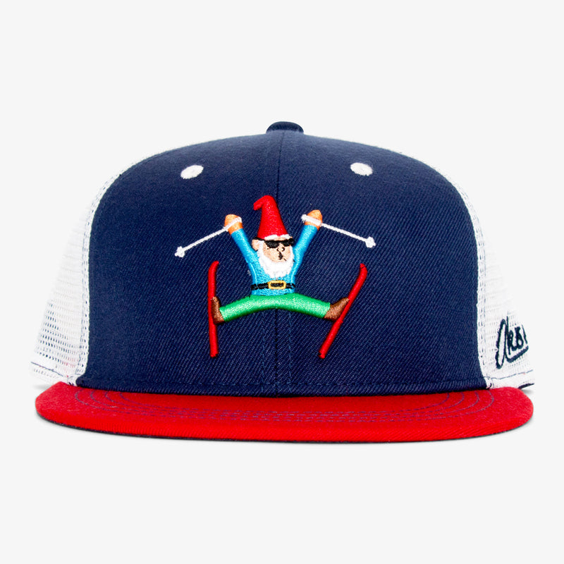 Aksels Gnome Skier Trucker Hat