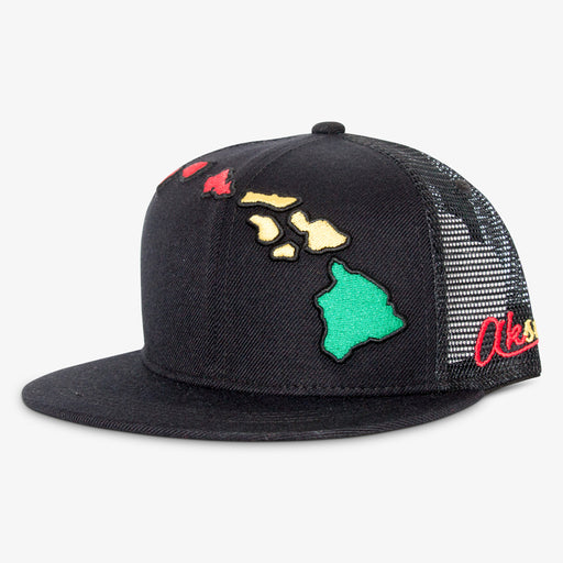 Aksels Hawaii Islands Trucker Hat - Rhasta