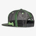 Aksels Colorado Montage Trucker Hat - Neon Black