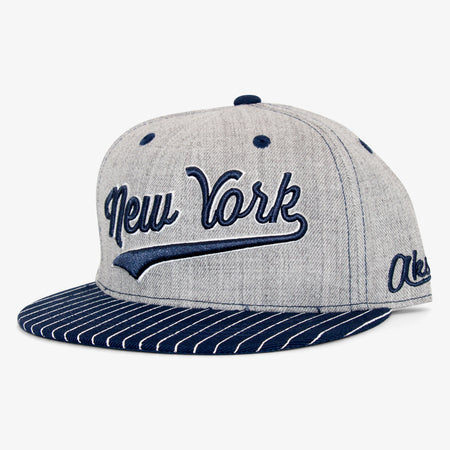 Aksels New York Pinstripes Snapback Hat