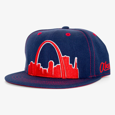 Aksels St. Louis Arches Snapback Hat
