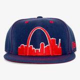 St. Louis Arches Flat Bill Snapback Hat