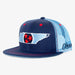 Aksels Tennessee Flag Trucker Hat - Blue