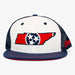 Aksels Tennessee Flag Trucker Hat - White