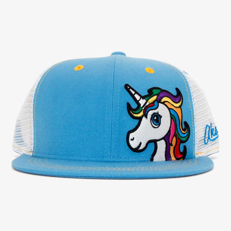 Aksels Unicorn Trucker Hat