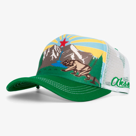 Aksels California Republic Foam Trucker