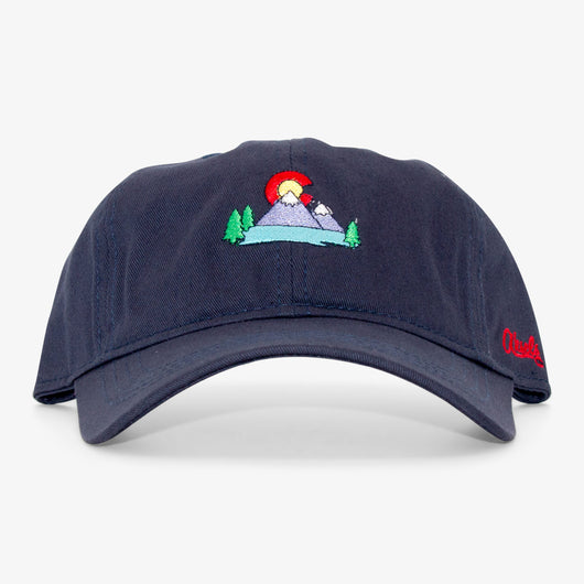 Colorado Lake Curved Bill Hat