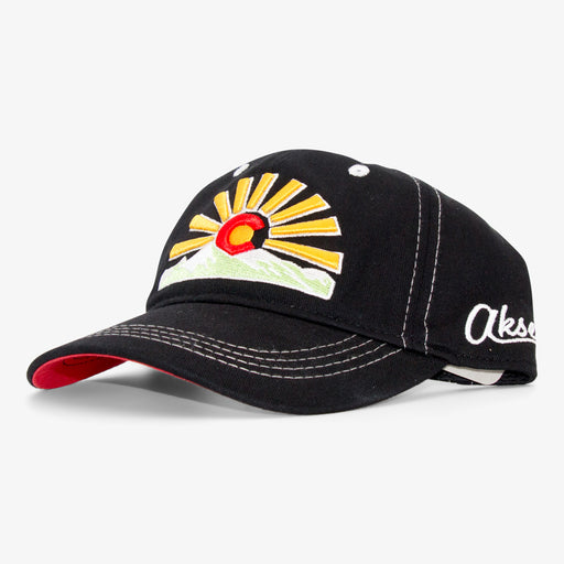 Aksels Colorado Sunset Dad Hat - Black