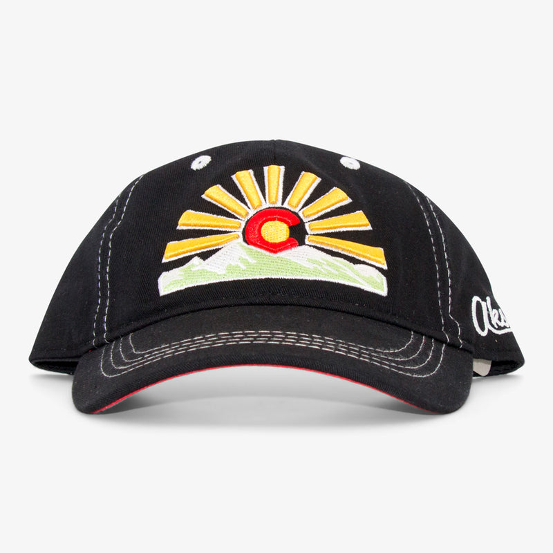 Aksels Colorado Sunset Dad Hat - Royal