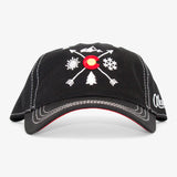 Colorado Arrows Curved Bill Hat - All Black