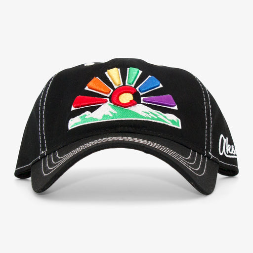 Aksels Colorado Pride Sunset Dad Hat