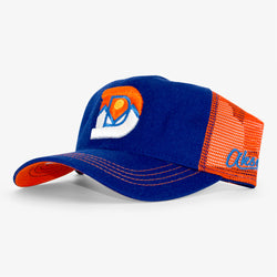 Denver D Unstructured Trucker Hat