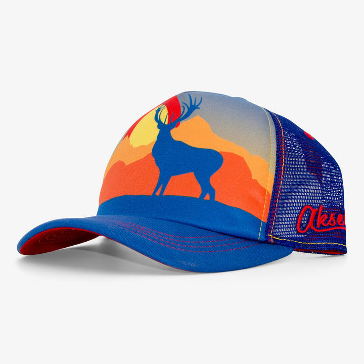 Sublimated Elk Trucker Hat