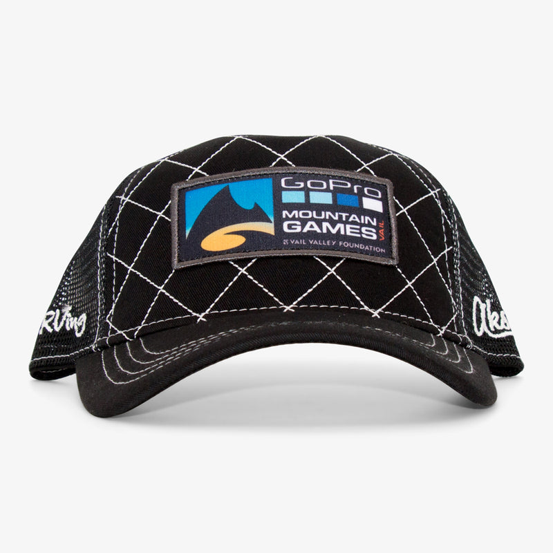 Aksels 2017 GoPro Games Curved Trucker Hat