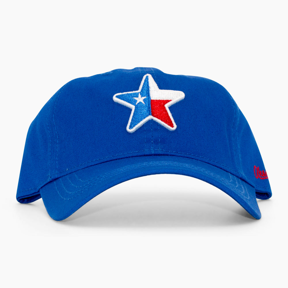 Aksels Lone Star Texas Dad Hat - Royal