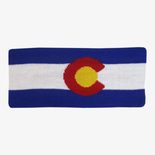 Aksels Colorado Flag Fleece Headband