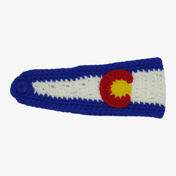 Colorado Flag Knit Headband