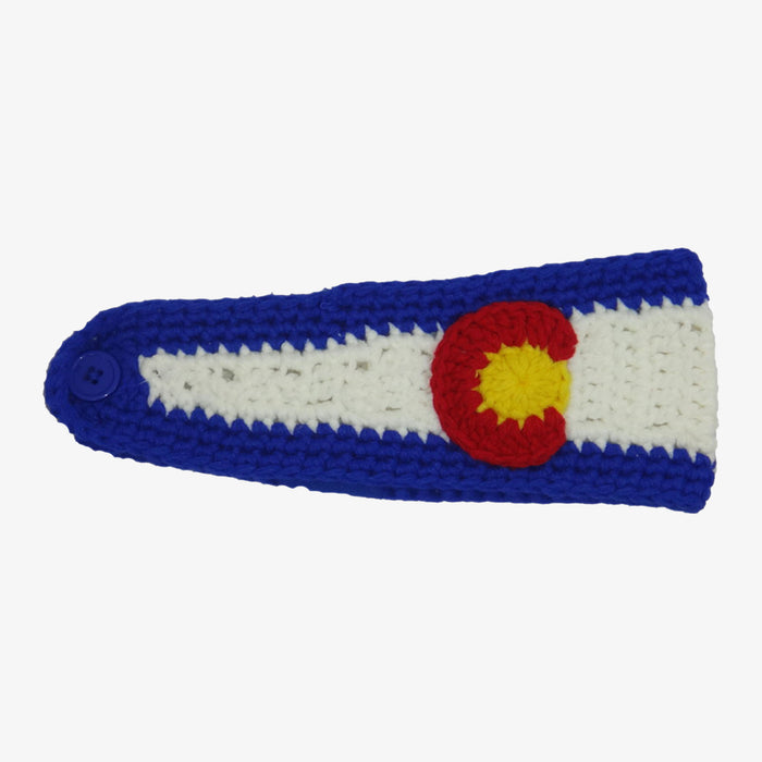 Aksels Colorado Flag Knit Headband