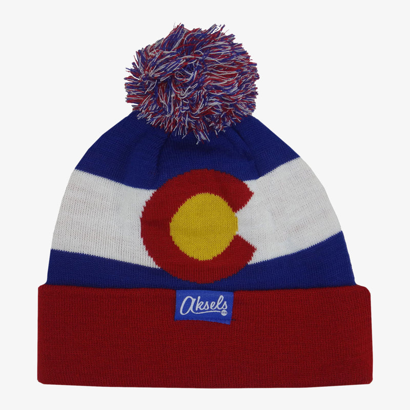 Aksels Colorado Flag Beanie - Neon