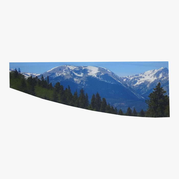 Aksels Sublimated Colorado Flag and Mountains Headband