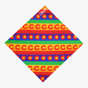 Colorado Rainbow Bandana
