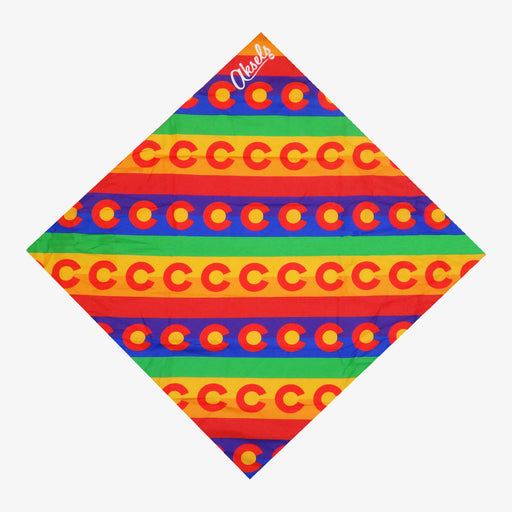 Aksels Colorado Flag Rainbow Bandana