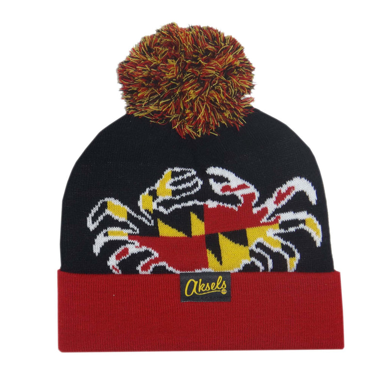 Aksels Maryland Flag Crab Beanie