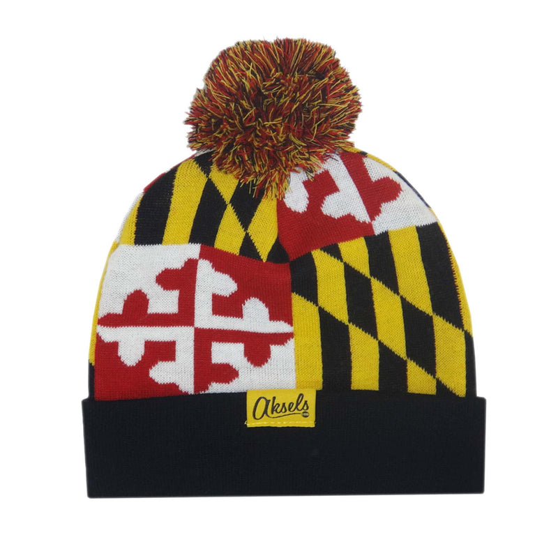 Aksels Maryland Flag Beanie