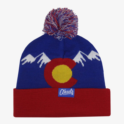 Aksels Colorado Mountain Beanie - Royal