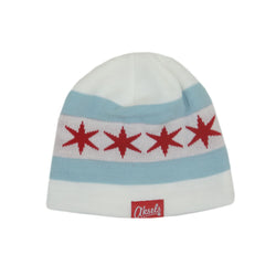 Chicago White Beanie