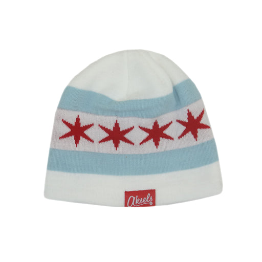 Aksels Chicago Flag Beanie