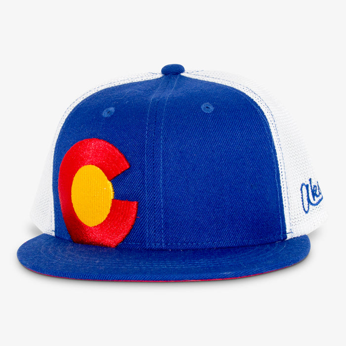 Aksels Colorado Big C Mesh Full Flex Hat