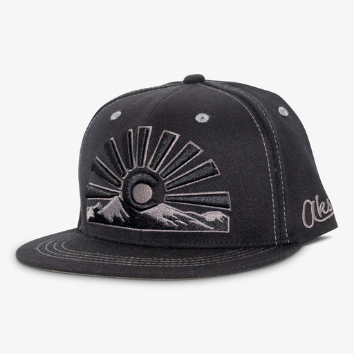 Aksels Colorado Sunset Full Flex Hat - All Black