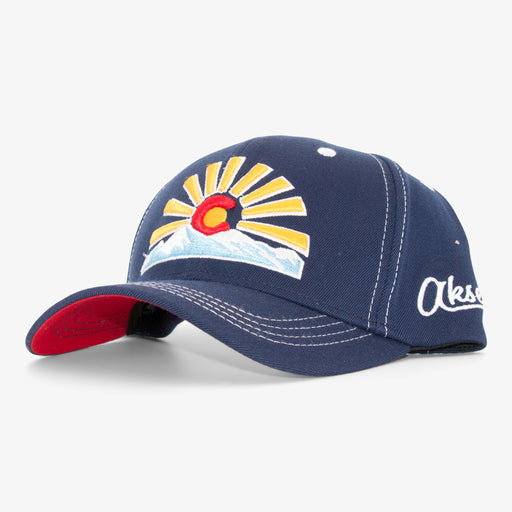 Aksels Colorado Sunset Unstructured Full Flex Hat