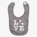 California Love Bib - Gray