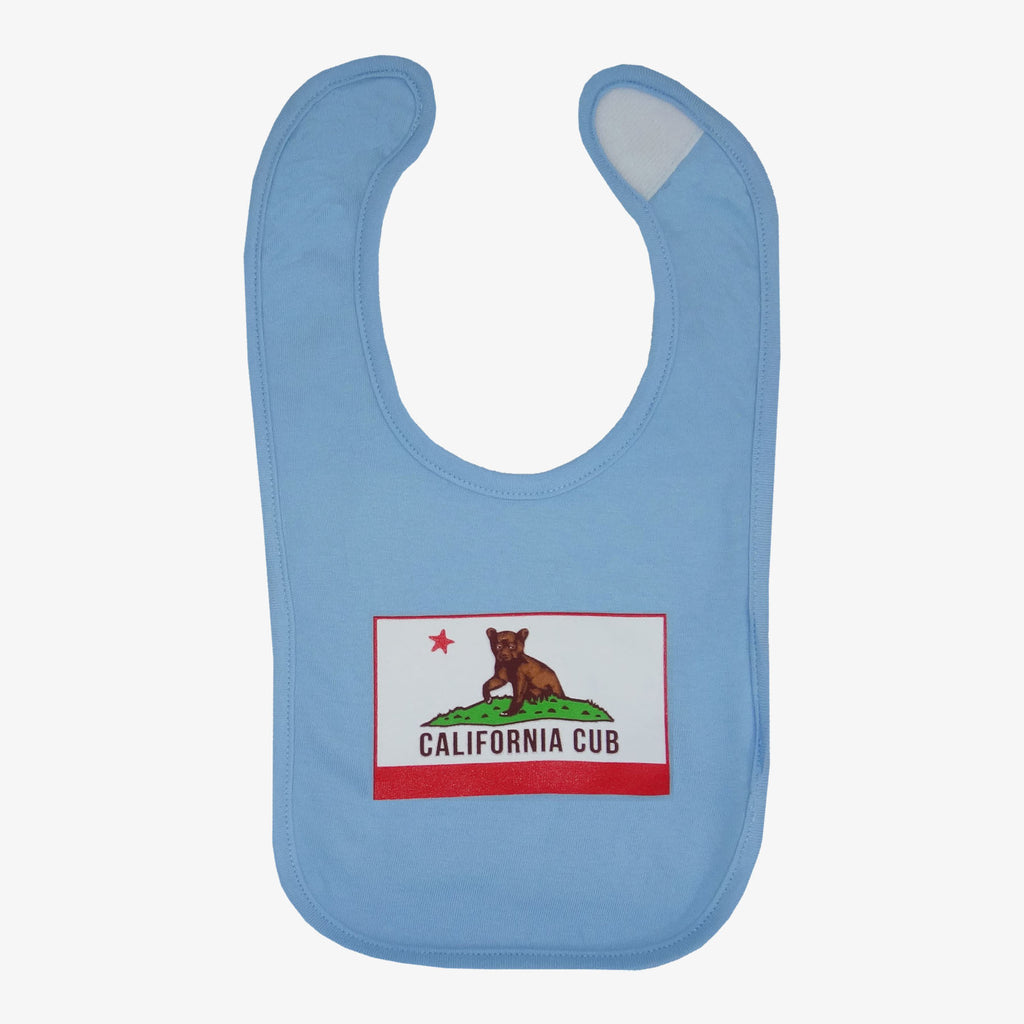 California Cub Bib - Blue