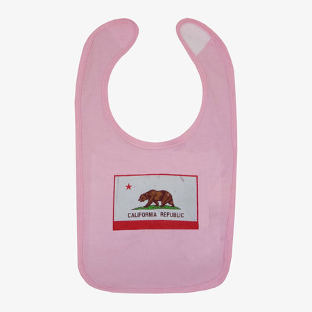 California Flag Bib - Black