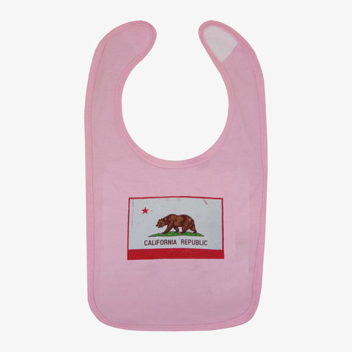 California Flag Bib - Pink